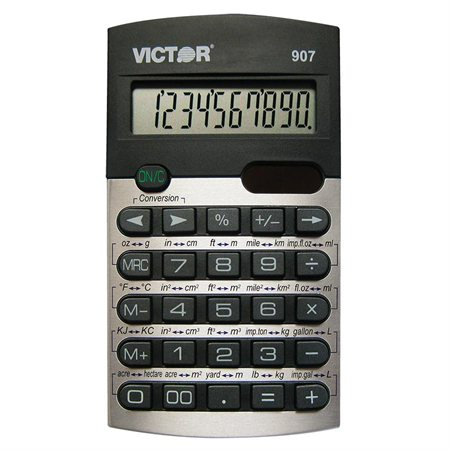 Calculatrice à conversion métrique 907