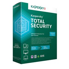 Logiciel antivirus Kaspersky Total Security 2016