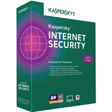 Logiciel antivirus Kaspersky Internet Security 2017