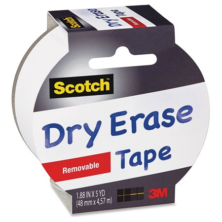 1905RDEEFS TAPE DRY ERASE REMOVABLE 48MMX4.57M WHT