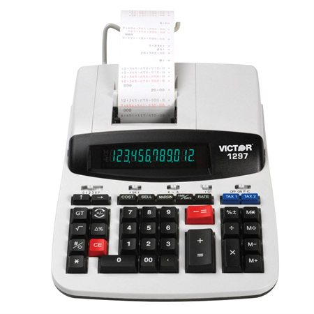 Calculatrice à imprimante 1297
