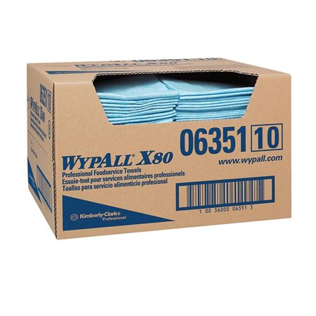 Chiffons essuie-tout WypAll® X80